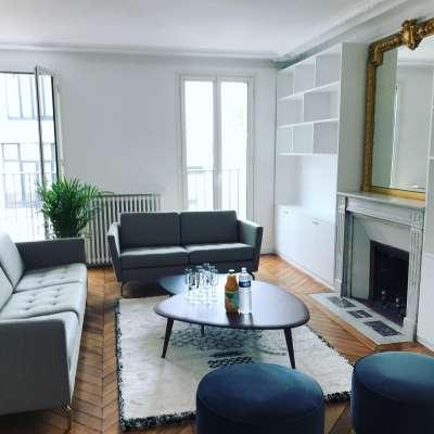 APRES 02 - Agence CORALIE ZANA Interior Design - Réalisation MONTMARTRE NORD - Haussmannien PARIS 10 - Rénovation totale & Décoration